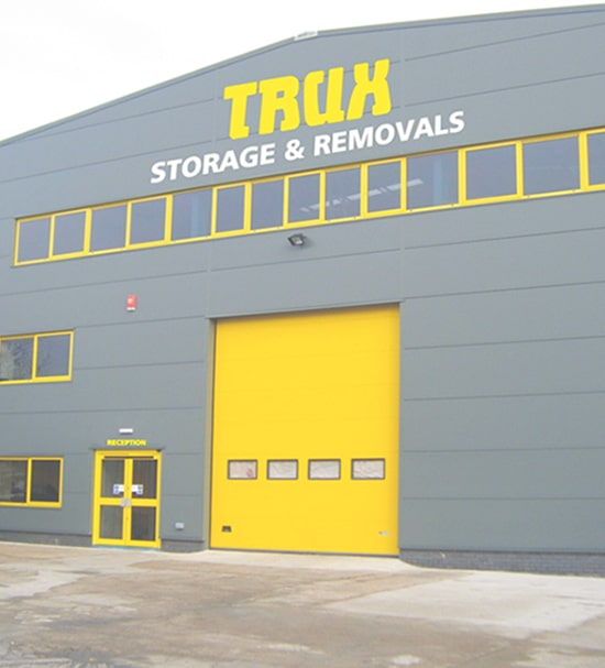 trux storage and removals office