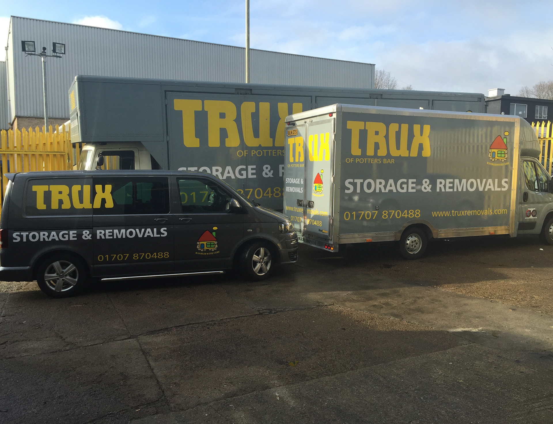 trux removals vehicle