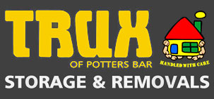trux storage and removals logo
